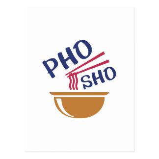 Cartão Postal Pho Sho