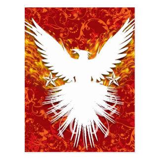 Cartão Postal Phoenix vermelho