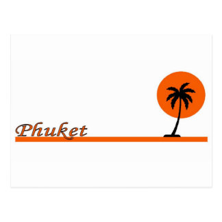 Cartão Postal Phuket, Tailândia