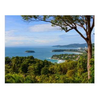 Cartão Postal Phuket Tailândia - praia de Kata