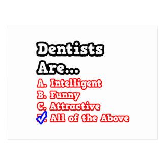 Cartão Postal Piada do questionário do dentista…