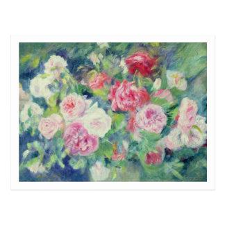 Cartão Postal Pierre rosas 2 de Renoir um |