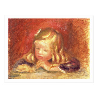 Cartão Postal Pierre um Coco de Renoir | na mesa