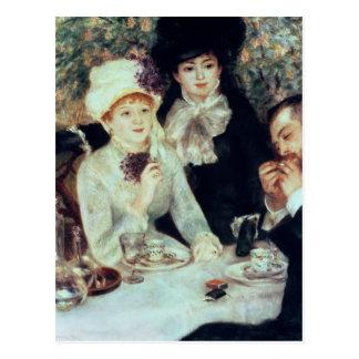 Cartão Postal Pierre um Renoir | a extremidade do almoço