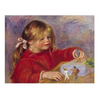 Cartão Postal Pierre um Renoir | Claude Renoir no jogo
