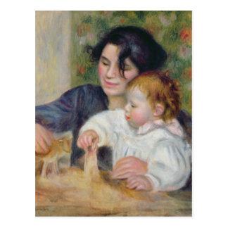 Cartão Postal Pierre um Renoir | Gabrielle e Jean