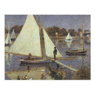 Cartão Postal Pierre um Renoir | o Seine em Argenteuil