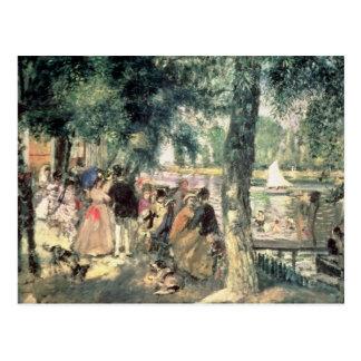 Cartão Postal Pierre um Renoir | que banham-se no Seine