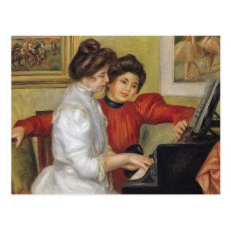 Cartão Postal Pierre um Renoir | Yvonne e Christine Lerolle