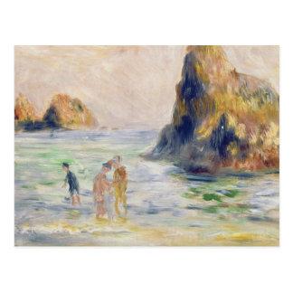Cartão Postal Pierre uma baía de Renoir | Moulin Huet, Guernsey