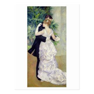 Cartão Postal Pierre uma dança de Renoir | na cidade