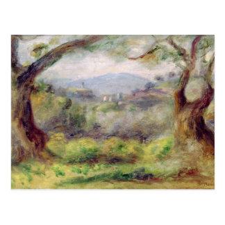 Cartão Postal Pierre uma paisagem de Renoir | em Les Collettes