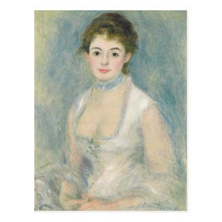 Cartão Postal Pierre uma senhora Henriot de Renoir |