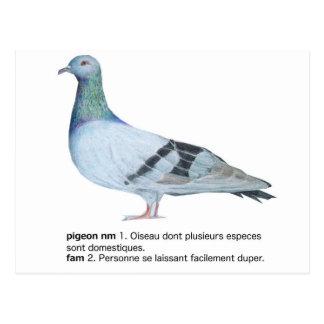 Cartão Postal Pigeon by NuancesdePigeon T-shirts