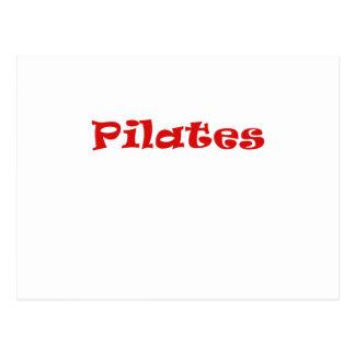 Cartão Postal Pilates