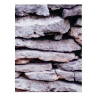 Cartão Postal pilha da rocha formada