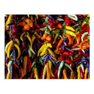 Cartão Postal Pimenta de pimentão