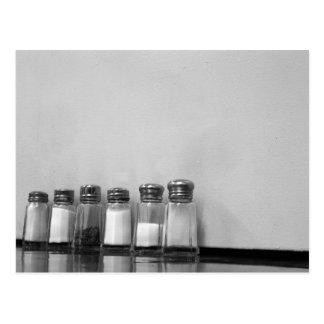 Cartão Postal pimenta de sal de sal