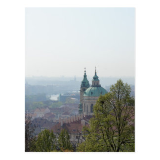 Cartão Postal Pináculos da igreja