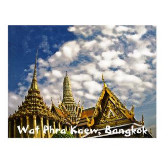 Cartão Postal Pináculos de Wat Phra Kaew