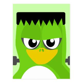 Cartão Postal Pinguim de Frankenstein