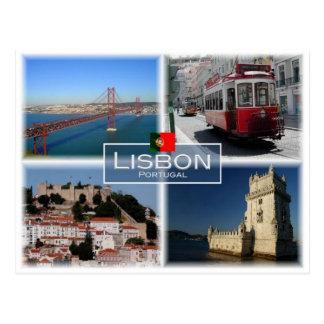 Cartão Postal Pinta Portugal - Lisboa -