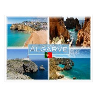 Cartão Postal Pinta Portugal - o Algarve -