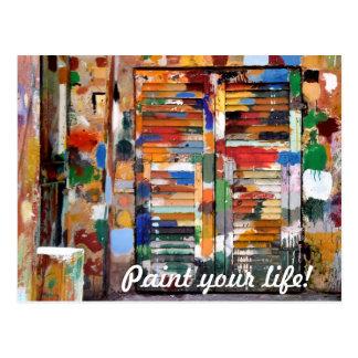 Cartão Postal pinte sua vida!
