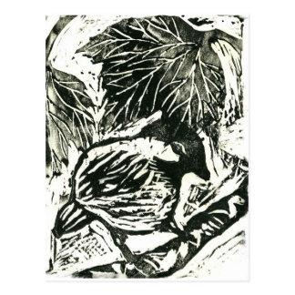 Cartão Postal Pintinho-um-Dee [impressão preto e branco]