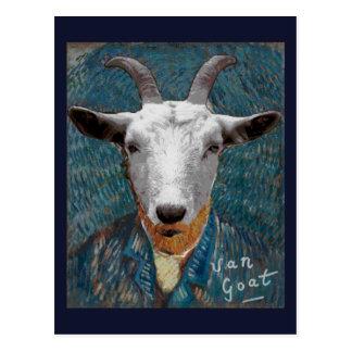 Cartão Postal Pintor de Vincent Van Cabra Animal