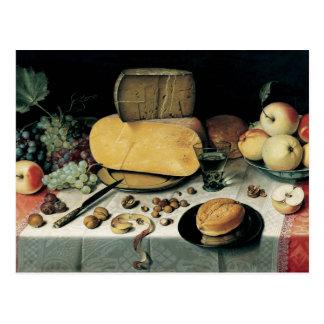 Cartão Postal Pintura a óleo clássica Floris Van Dyck