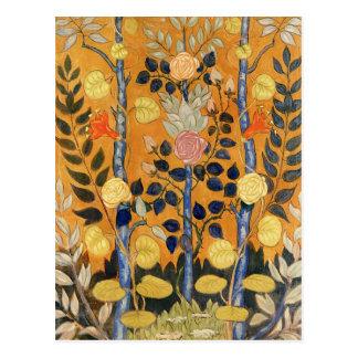 Cartão Postal Pintura de Emile Bernard, rosas
