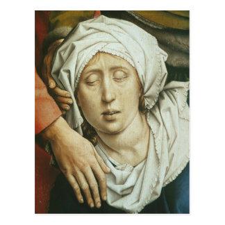 Cartão Postal Pintura de Roger Weyden