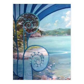 Cartão Postal Pintura de Webster por Lynda Vugler
