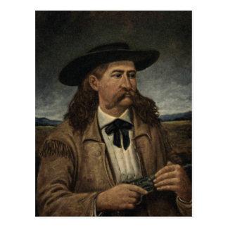 Cartão Postal Pintura de Wild Bill Hickok