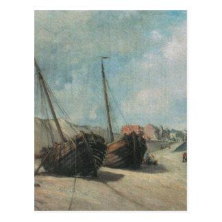Cartão Postal Pintura do Shipwreck