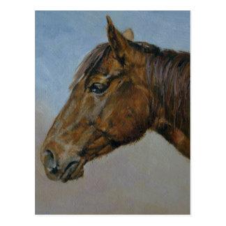 Cartão Postal Pintura figurativa do óleo de Annie