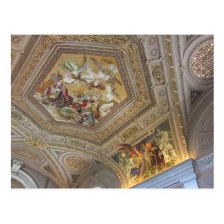 Cartão Postal Pinturas romanas