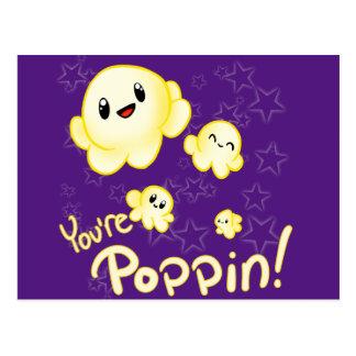 Cartão Postal Pipoca de Poppin