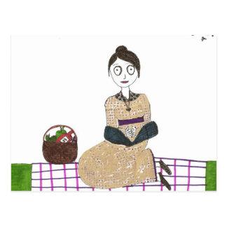 Cartão Postal Piquenique assustador de Jane Austen