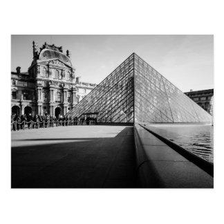 Cartão Postal Pirâmide 2 do Louvre