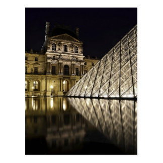 Cartão Postal Pirâmide 3 do Louvre