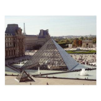 Cartão Postal Pirâmide do Louvre