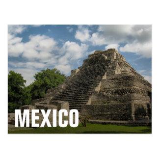 Cartão Postal Pirâmide maia