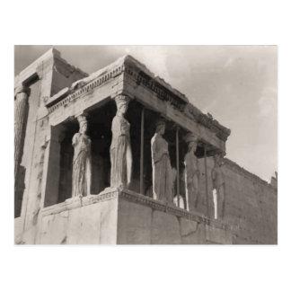 Cartão Postal Piscina, Atenas, acrópole, Partenon
