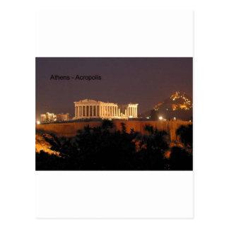 Cartão Postal Piscina - Atenas - acrópole (por St.K)