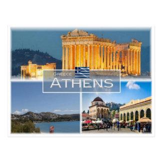 Cartão Postal Piscina da GR - Atenas -