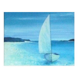 Cartão Postal Piscina de St Helens, ilhas de Scilly, Cornualha