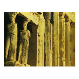 Cartão Postal Piscina do vintage, Atenas, acrópole, Partenon