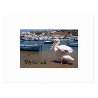 Cartão Postal Piscina Mykonos PETROS (St.K)